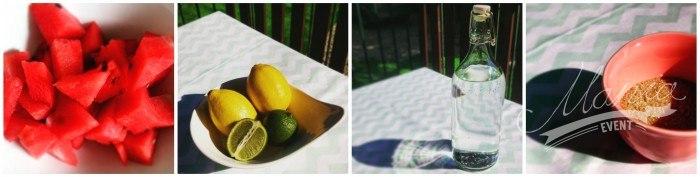 Lemoniada arbuzowa - składniki