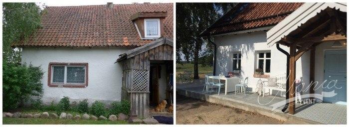 Dom przed i po remoncie proj. Dorota Szelągowska maniadesign.com.pl